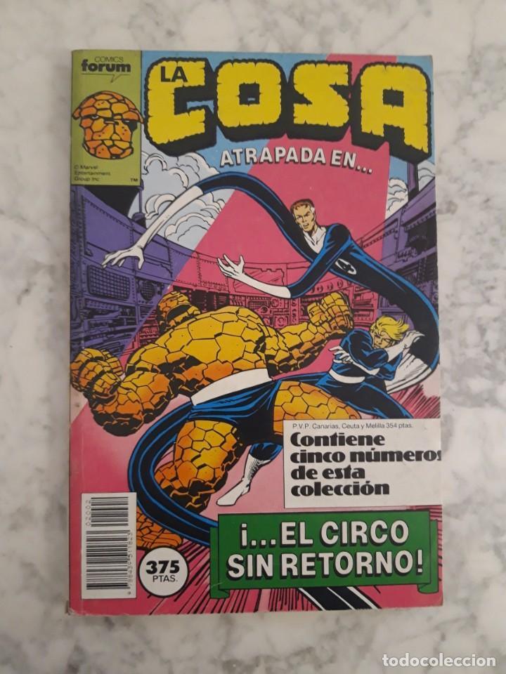 Cómics: LA COSA - COLECCIÓN COMPLETA 16 NÚMEROS - Foto 2 - 206759921