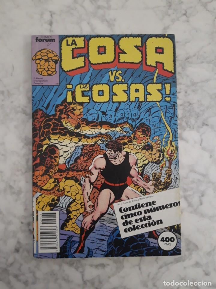 Cómics: LA COSA - COLECCIÓN COMPLETA 16 NÚMEROS - Foto 3 - 206759921