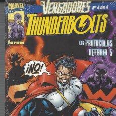 Cómics: VENGADORES THUNDERBOLTS - 4 NºS - COMPLETA - PERFECTO ESTADO. Lote 206767815