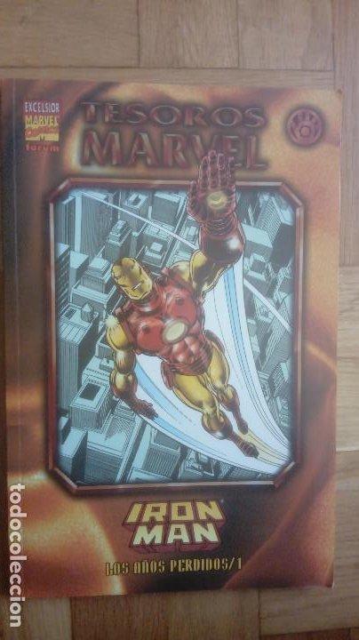 TESOROS MARVEL Nº 7 IRON MAN: LOS AÑOS PERDIDOS 1 (Tebeos y Comics - Forum - Iron Man)