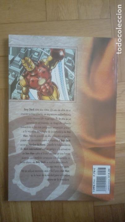 Cómics: TESOROS MARVEL Nº 7 IRON MAN: LOS AÑOS PERDIDOS 1 - Foto 3 - 206808096