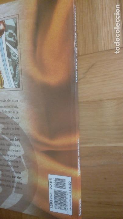 Cómics: TESOROS MARVEL Nº 7 IRON MAN: LOS AÑOS PERDIDOS 1 - Foto 4 - 206808096