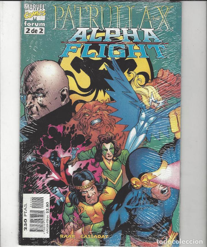 PATRULLA X / ALPHA FLIGHT - SERIE COMPLETA - 2 NºS - PERFECTO ESTADO !! (Tebeos y Comics - Forum - Patrulla X)
