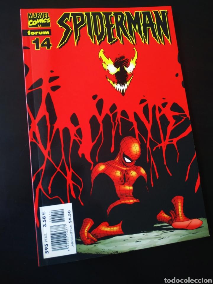DE KIOSCO SPIDERMAN 14 LOMO ROJO FORUM (Tebeos y Comics - Forum - Spiderman)