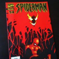 Cómics: DE KIOSCO SPIDERMAN 14 LOMO ROJO FORUM. Lote 206873117