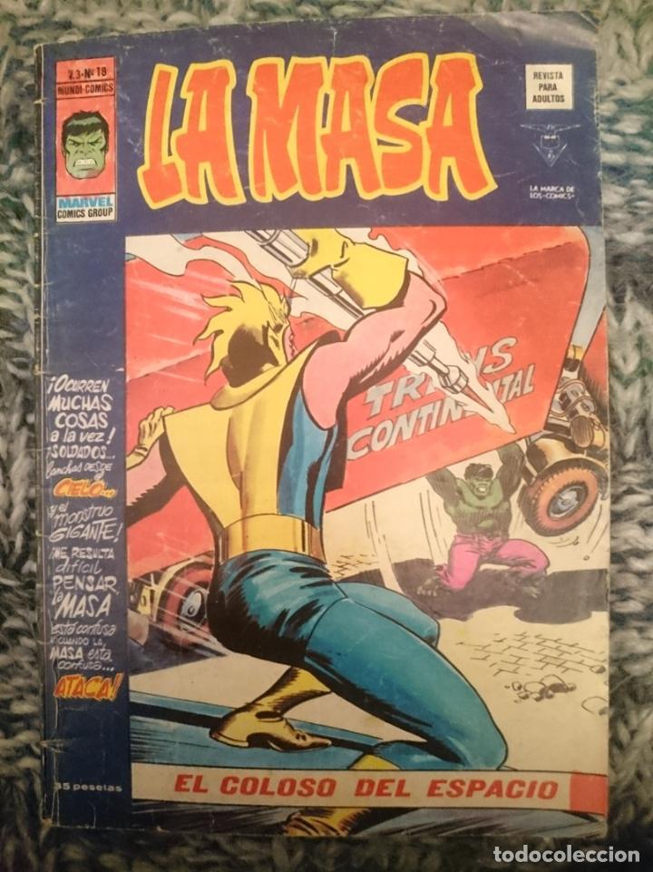 LA MASA 2.3 NUMERO 18 EL COLOSO DEL ESPACIO (Tebeos y Comics - Forum - Hulk)