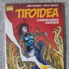 Cómics: TIFOIDEA: CAMINANDO HERIDO TOMO ÚNICO COMICS FORUM. Lote 206909060