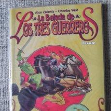 Cómics: LA BALADA DE LOS TRES GUERREROS TOMO ÚNICO COMICS FORUM. Lote 206913353