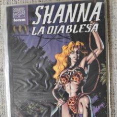Cómics: SHANNA LA DIABLESA TOMO ÚNICO COMICS FORUM. Lote 206914373