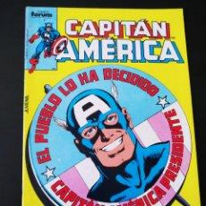 Cómics: DE KIOSCO CAPITAN AMERICA 12 FORUM. Lote 206966022