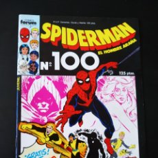 Cómics: DE KIOSCO SPIDERMAN 100 CON POSTER FORUM INCLUIDO. Lote 206966190