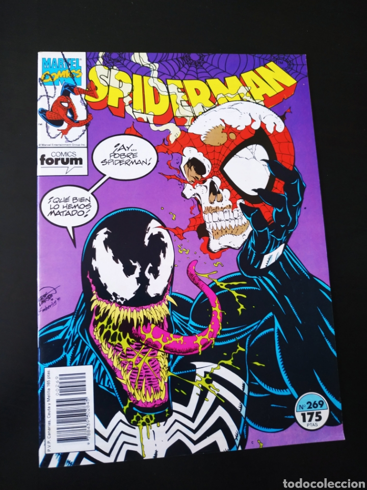 DE KIOSCO SPIDERMAN 269 FORUM (Tebeos y Comics - Forum - Spiderman)