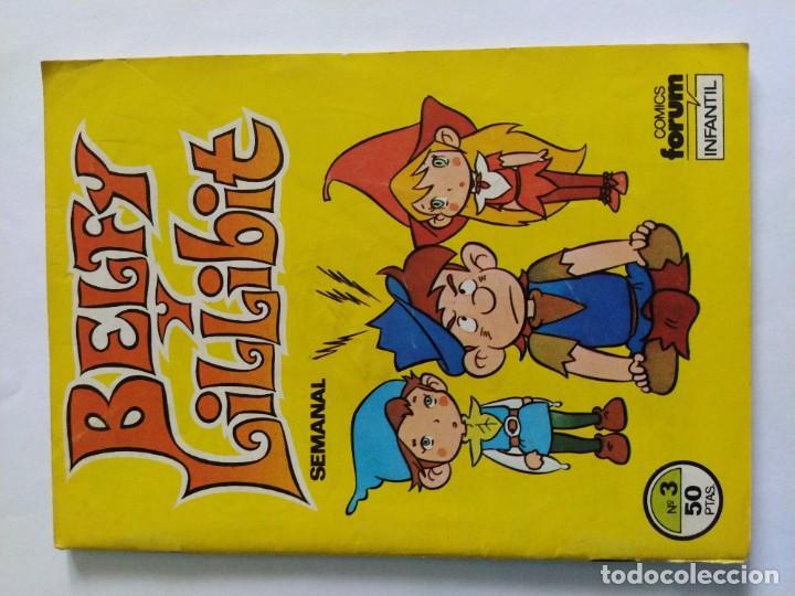Cómics: Lote comics Belfy Lillibit Nº 1-2-3-4-7-8-9-10 Edic. Forum años 80 - Foto 9 - 207038540