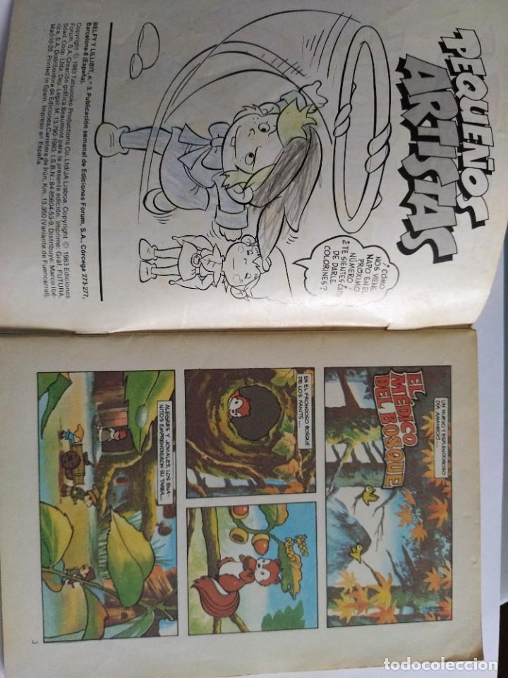 Cómics: Lote comics Belfy Lillibit Nº 1-2-3-4-7-8-9-10 Edic. Forum años 80 - Foto 10 - 207038540