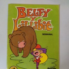 Cómics: CÓMIC BELFY LILLIBIT Nº 14 EDICIONES FORUM AÑOS 80. Lote 207038832