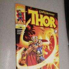 Comics : EL PODEROSO THOR VOL. 4 (IV) Nº 41 / MARVEL - FORUM. Lote 207071886