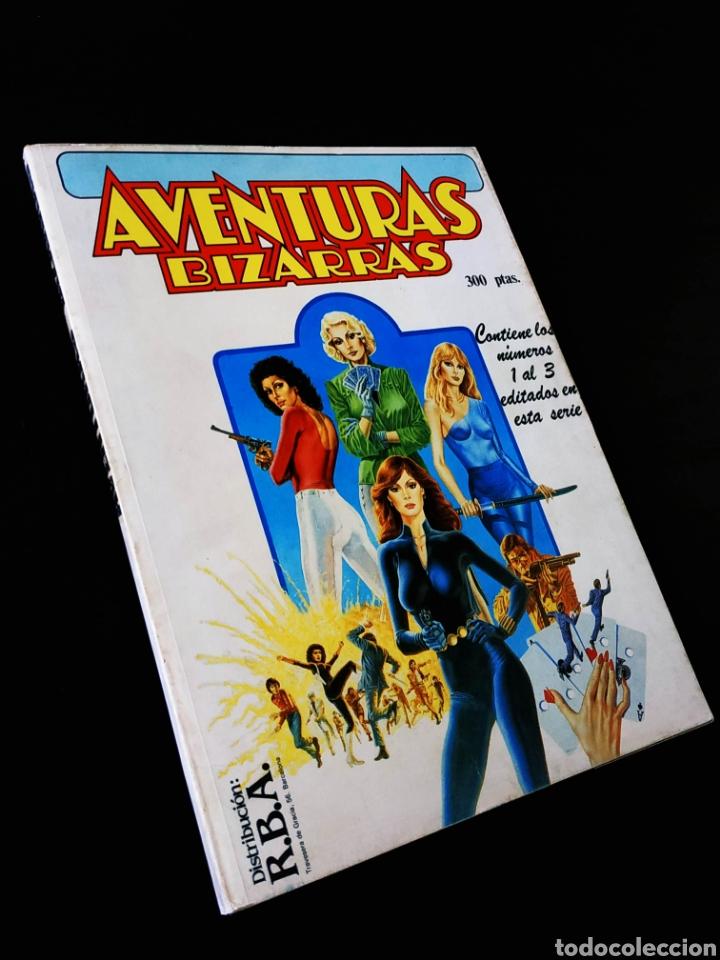 EXCELENTE ESTADO AVENTURAS BIZARRAS 1 AL 3 TOMO RETAPADO FORUM (Tebeos y Comics - Forum - Retapados)