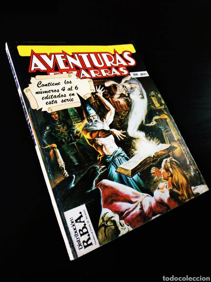 MUY BUEN ESTADO AVENTURAS BIZARRAS 4 AL 6 TOMO RETAPADO FORUM (Tebeos y Comics - Forum - Retapados)