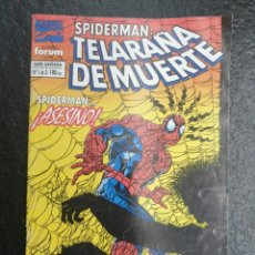 Cómics: SPIDERMAN: TELARAÑA DE MUERTE - 1 DE 3. FORUM - MARVEL.. Lote 207196430