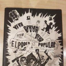 Cómics: COMIC AÑOS 70 VIVA EL PODER POPULAR. Lote 207248880