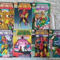 Comics : LA CRUZADA DEL INFINITO 1,2,3,4,5,6,8,. Lote 207266433