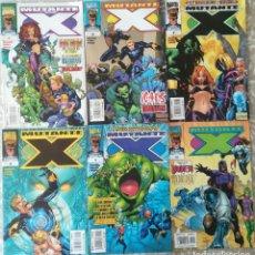 Cómics: MUTANTE X 4,6,7,8,9,10. Lote 207267226
