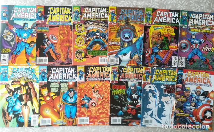 CAPITAN AMERICA CENTINELA DE LA LIBERTAD COMPLETA 12 NUMEROS (Tebeos y Comics - Forum - Capitán América)