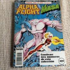 Cómics: ALPHA FLIGHT - TOMO RECOPILATORIO CON LOS Nº 48, 49, 50 -ED. FORUM. Lote 207319427