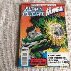 Cómics: ALPHA FLIGHT - TOMO RECOPILATORIO CON LOS Nº 51, 52, 53 -ED. FORUM. Lote 207320237