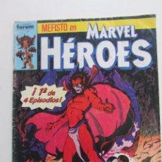 Fumetti: MARVEL HEROES Nº 27 - MEFISTO Y 4 FANTASTICOS FORUM MUCHOS MAS EN VENTA MIRA TUS FALTAS E8. Lote 207324792