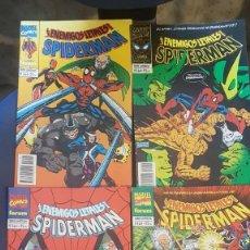 Cómics: SPIDERMAN: LOS ENEMIGOS LETALES (OBRA COMPLETA 4 NÚMEROS) - FORUM. Lote 207334591