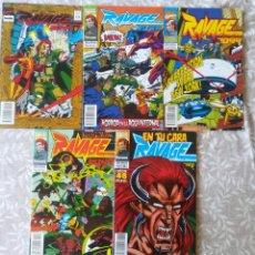 Cómics: RAVAGE 2099 1,3,5,6,8. Lote 207364892