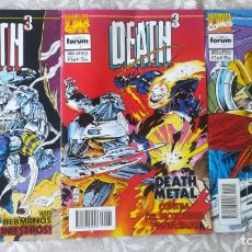 Cómics: DEATH 3 1,2,3 DE 4. Lote 207365647