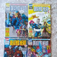 Cómics: DEAT'S HEAD 1,2,3,12. Lote 207371916