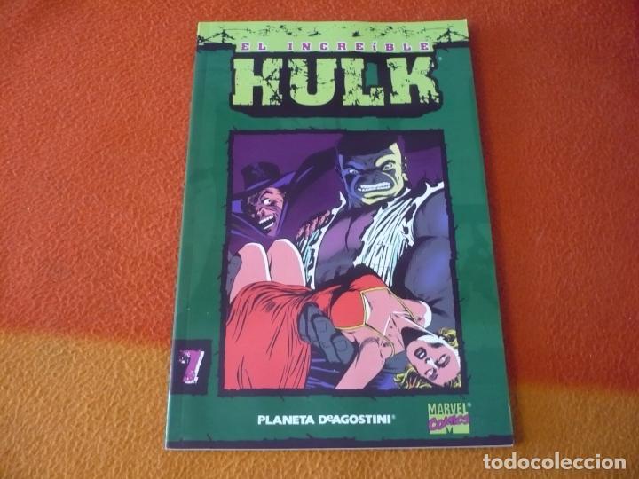 EL INCREIBLE HULK Nº 7 COLECCIONABLE ( PETER DAVID ) ¡MUY BUEN ESTADO! MARVEL FORUM (Tebeos y Comics - Forum - Hulk)