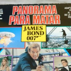 Cómics: CINECOMIC PANORAMA PARA MATAR JAMES BOND PRPM. Lote 207563111