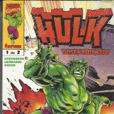 Cómics: HULK DESENCADENADO - 2 TOMOS - COMPLETA - NUEVOS. Lote 207580898