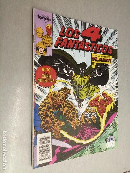 LOS 4 FANTÁSTICOS VOL. 1 Nº 87 / MARVEL - FORUM (Tebeos y Comics - Forum - 4 Fantásticos)