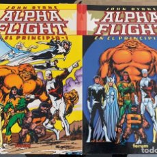 Cómics: COMIC ALPHA FLIGHT JOHN BYRNE EDITORIAL FORUM. Lote 207721870