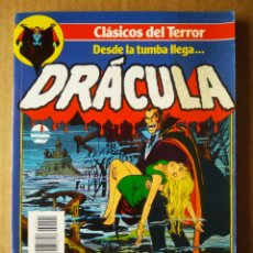 Cómics: RETAPADO CLÁSICOS DEL TERROR: DESDE LA TUMBA LLEGA... DRÁCULA (FORUM, 1988). NÚMEROS 1-2-3-4-5.. Lote 207733973