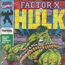 Cómics: FACTOR X / HULK - 3 NºS - COMPLETA - BUEN ESTADO. Lote 275633528
