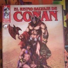 Comics: EL REINO SALVAJE DE CONAN 24. Lote 208064232