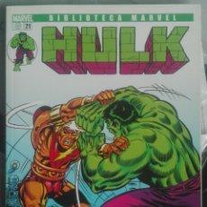 Comics : HULK 21 BIBLIOTECA MARVEL EXCELSIOR / PILA 1. Lote 208074000