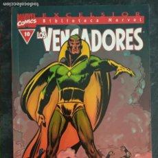Comics : BIBLIOTECA MARVEL EXCELSIOR - LOS VENGADORES - Nº 10. Lote 208132807