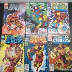 Cómics: IRON MAN - DESDE LAS CENIZAS 1, 2, 3, 4, 5 Y 6 DE 8. FORUM - MARVEL COMICS. (ENVÍO 4,31€). Lote 208190092