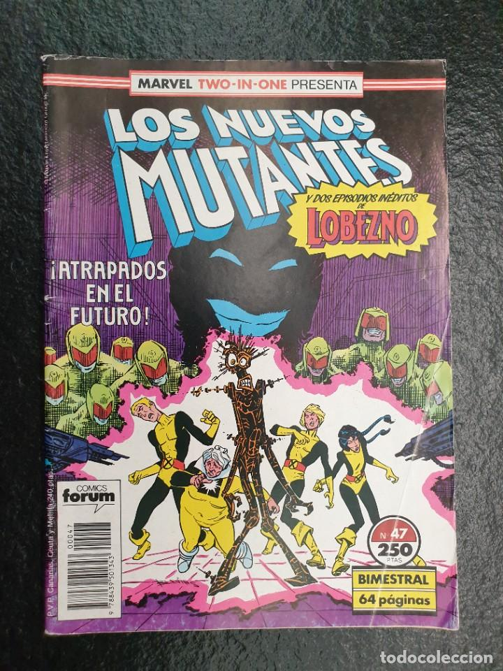 LOS NUEVOS MUTANTES Nº 47. USA: THE NEW MUTANTS 49 Y 50 + MARVEL COMICS PRESENTS 7 Y 8 (LOBEZNO) (Tebeos y Comics - Forum - Nuevos Mutantes)