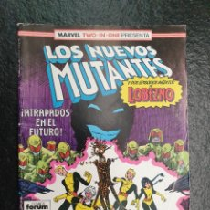 Cómics: LOS NUEVOS MUTANTES Nº 47. USA: THE NEW MUTANTS 49 Y 50 + MARVEL COMICS PRESENTS 7 Y 8 (LOBEZNO). Lote 208195410