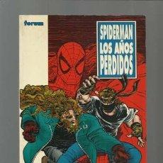 Comics : SPIDERMAN: LOS AÑOS PERDIDOS, 1996, FORUM, BUEN ESTADO. Lote 208235725