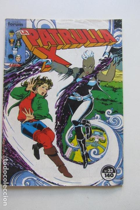 LA PATRULLA X VOL. 1 Nº 33 FORUM MUCHOS MAS A LA VENTA MIRA TUS FALTAS C12X5 (Tebeos y Comics - Forum - Patrulla X)