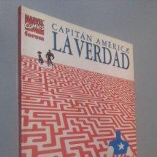 Comics : TOMO CAPITAN AMERICA LA VERDAD # ( EST NEGRA). Lote 208479460